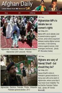 Afghan daily